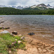 Love The Colorado Rocky Mountains Art Print