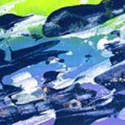 Love Those Diagonals - Purple 2 Art Print