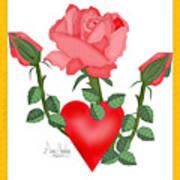 Love Will Grow Art Print