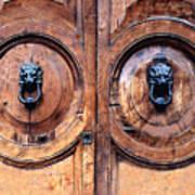 Lovely Double-door   Rome Art Print