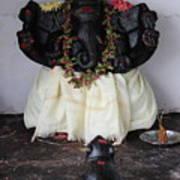 Lovely Ganesha, Valparai Art Print