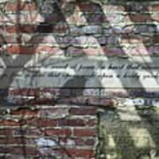 Lovely Garden Wall Art Print