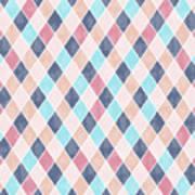 Lovely Geometric Pattern Vi Art Print