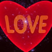 Loving Heart Art Print