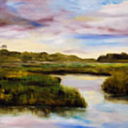 Low Country Art Print by Phil Burton
