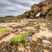 Low Tide At Saddle Rocks Art Print