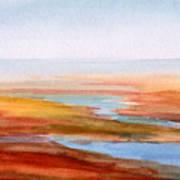 Low Tide Cape Cod Art Print