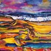 Low Tide Art Print by Chaline Ouellet