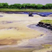 Low Tide Parsons Art Print
