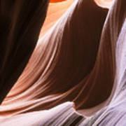 Lower Antelope Slot Canyon Art Print