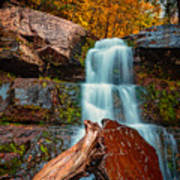 Lower Falls At Kaaterskill Art Print