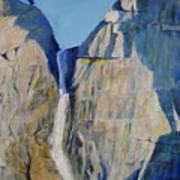 Lower Falls, Yosemite Art Print