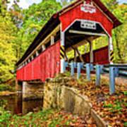 Lower Humbert Covered Bridge 2 Art Print