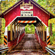 Lower Humbert Covered Bridge 5 Art Print