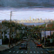 Lower Manhattan 2002 Art Print