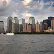 Lower Manhattan From The Hudson Art Print