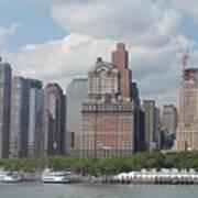 Lower Manhattan Panorama Art Print
