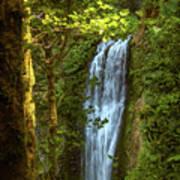 Lower Multanomah Falls, Oregon Art Print