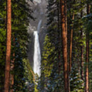 Lower Yosemite Falls Art Print