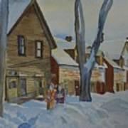 Lowertown Scene No. 2 Art Print