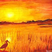 Loxahatchee Sunrise Art Print