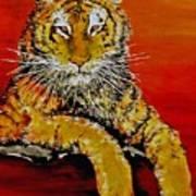 Lsu Tiger Art Print