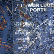 Lube Port Art Print