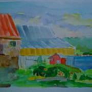 Lubec Fishery Art Print