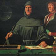 Luca Pacioli, Franciscan Friar Art Print