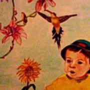 Lucas Le Petit Tournesol Art Print