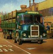 Lucas Scammell Routeman I Art Print by Mike  Jeffries