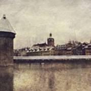 Lucerna, Kapellbrucke Art Print