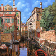 Luci A Venezia Art Print