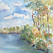 Lucien Lake Shoreline Art Print
