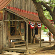 Luckenbach Post Office Art Print