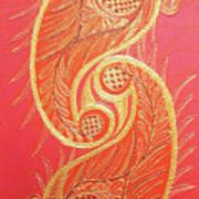 Lucknow's Chikangari Art Print