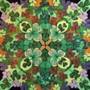 Lucky Day  Mandala Art Print