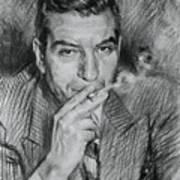 Lucky Luciano Art Print