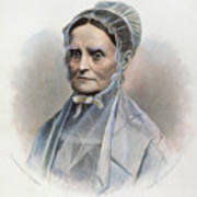 Lucretia Coffin Mott Art Print by Granger
