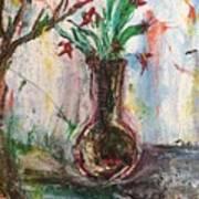 Lucy Vase Art Print