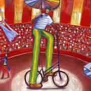 Ludi-circo Art Print