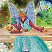 Lulu Beth Twinkle At The Banquet Art Print
