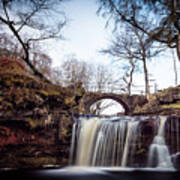 Lumb Falls Panoramic Art Print
