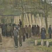 Lumber Sale Nuenen  January 1884 Vincent Van Gogh  1853  1890 Art Print