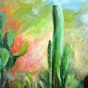 Lumiere De Desert Art Print
