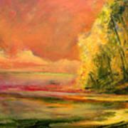 Luminous Sunset 2-16-06 Julianne Felton Art Print