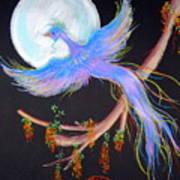 Luna Phoenix Art Print