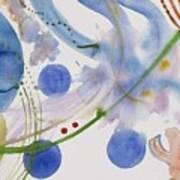 Lunar Galactic Convergence Art Print