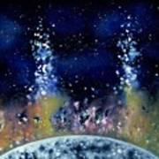 Lunar Genesis Art Print