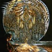 Lunar Sanctuary Art Print